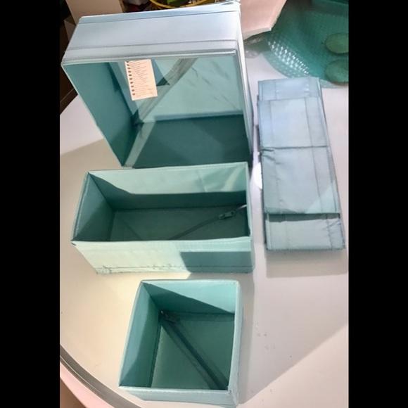 Ikea drawer organizer boxes. 5 pieces
